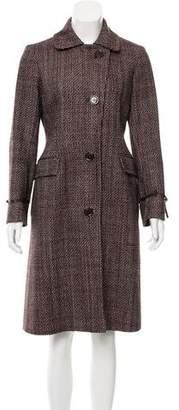 Loro Piana Tweed Wool Coat