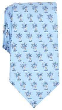 Club Room Men's Palm Neat Silk Tie, Created for Macy's