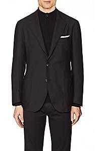 Xo Barneys Colombo Men's Cashmere Two-Button Sportcoat-Black