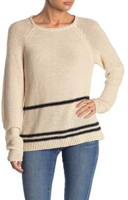 Magaschoni Knit Stripe Sweater
