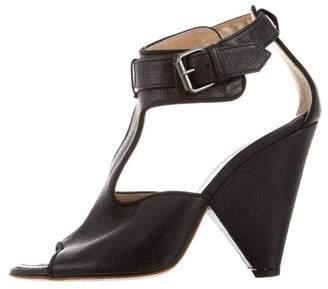 Proenza Schouler Cutout Ankle Strap Sandals