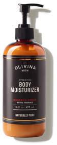 Olivina MEN Hydrating Body Moisturizer - Bourbon Cedar