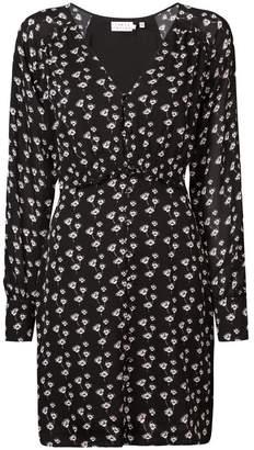 Tanya Taylor longsleeved floral print dress