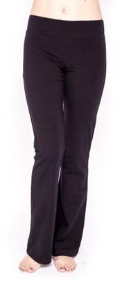 Clementine Apparel Women's Cotton/Spandex Fitness Pant