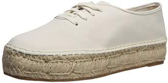 Nine West Women's GINGERBRED Nubuck Oxford Flat