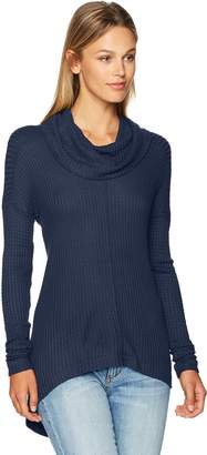 Lucky Brand Women's Cowlneck Thermal