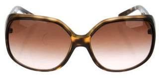 DKNY Oversize Tortoiseshell Sunglasses