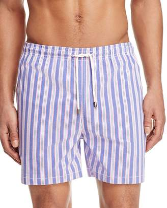 Solid & Striped Newport Stripe Classic Board Shorts $148 thestylecure.com