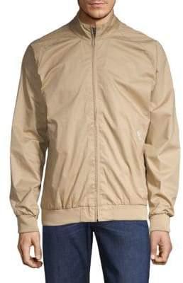 Ben Sherman Full-Zip Mockneck Jacket