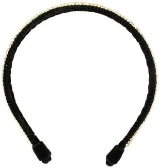 Ca&Lou Josephine crystal embroidered headband