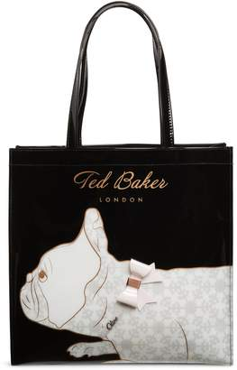 Ted Baker Large Alyacon French Bulldog Icon Tote