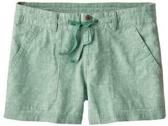 "Patagonia Women's Island Hemp Shorts - 4"""