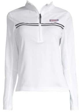 Vineyard Vines Performance Tennis Shep Half-Zip Sweater