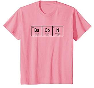 Bacon T-Shirt Periodic Table Science Chemistry Tee Shirt