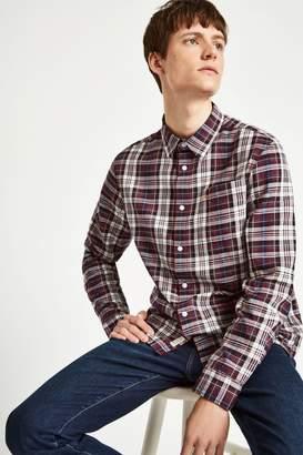 Jack Wills Salcombe Lw Flannel Texture Shirt