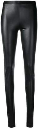 Plein Sud Jeans faux leather skinny leggings