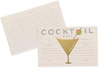 Rifle Paper Co. Cocktail Recipe Cards - Pack of 12