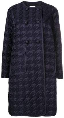 Comme des Garcons houndstooth double-breasted coat