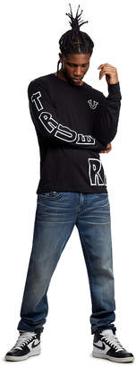 True Religion TRUE FACE LS CREW NECK TEE