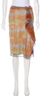 Gianni Versace Fur Knee-Length Skirt