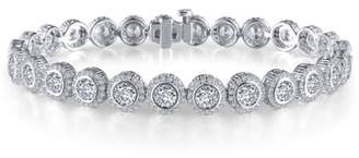 Lafonn Halo Simulated Diamond Tennis Bracelet