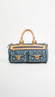 Louis Vuitton What Goes Around Comes Around Denim AB Neospeedy Bag