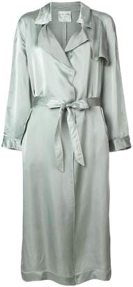Forte Forte satin trench coat