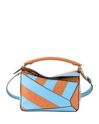 Loewe Puzzle Rugby Small Shoulder Bag