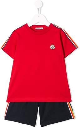 Moncler T-shirt and short set