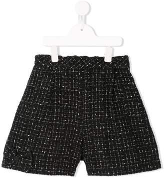 Familiar tweed shorts