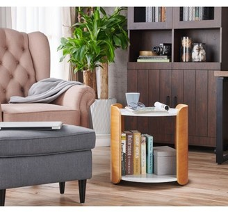 Rialto Furniture of America Mid Century Modern End Table