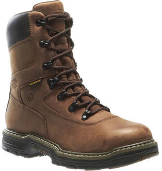 Wolverine Mens Buccaneer Work Boots Waterproof Slip Resistant Steel Toe Lace-up