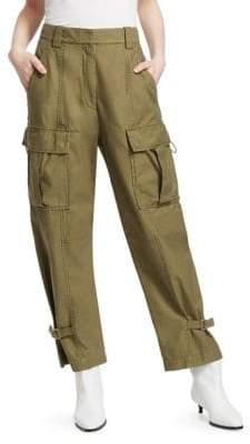 3.1 Phillip Lim Women's Utility Cargo Pants - Olive - Size 10