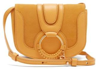 See by Chloe Hana Mini Suede Cross Body Bag - Womens - Yellow
