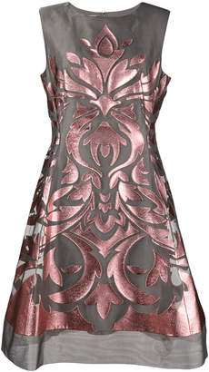 Alberta Ferretti laser cut dress