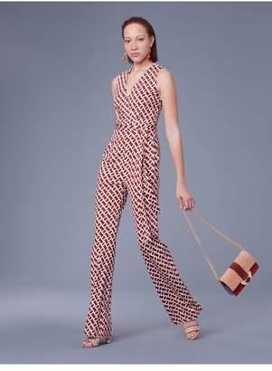 Diane von Furstenberg The Terria Silk Jersey Jumpsuit