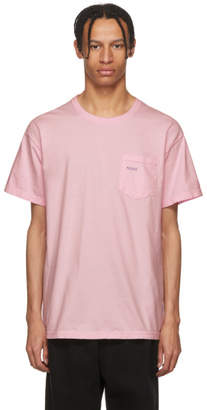 Noah NYC Pink Fishing Lure Pocket T-Shirt