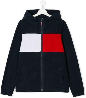 Tommy Hilfiger Junior TEEN logo stripe hoodie