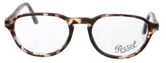 Persol Marble Round Eyeglasses
