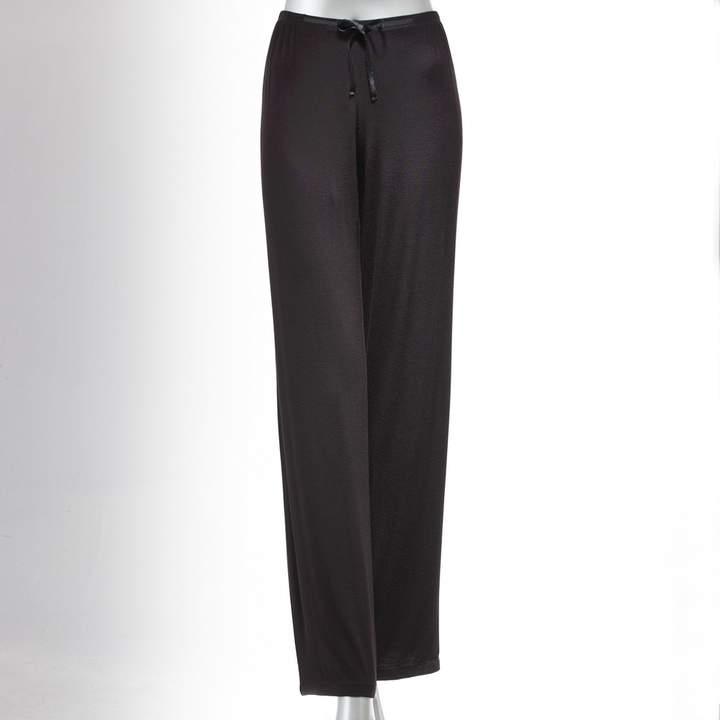 Women's Simply Vera Vera Wang Pajamas: Basic Luxury Pajama Pants