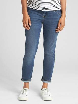 Gap Maternity Soft Wear Inset Panel Best Girlfriend Jeans