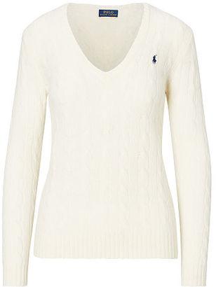 Polo Ralph Lauren Wool Blend V-Neck Sweater $98.50 thestylecure.com