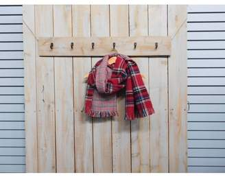 """Tickled Pink Willow Plaid Winter Scarf, 22"""" x 70"""", 100% Acrylic, Multiple Colors"""
