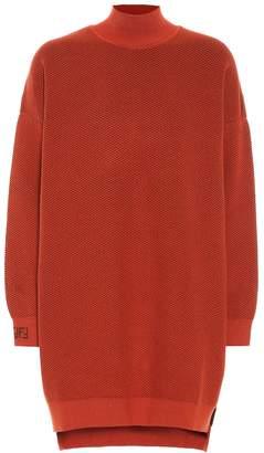 Fendi Knitted turtleneck dress