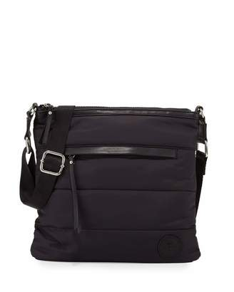 French Connection Gia Nylon Crossbody Bag, Black $50 thestylecure.com