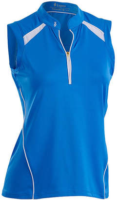Asstd National Brand Nancy Lopez Golf Sporty Sleeveless Polo