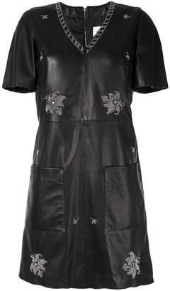 Dondup studded shift dress