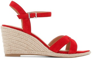 Jonak Suede Wedge Sandals