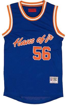 Haus of JR Nicky Logo-Embroidered Basketball Jersey