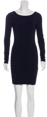 The Row Knit Mini Dress